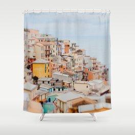Manarola, Cinque Terre III Shower Curtain