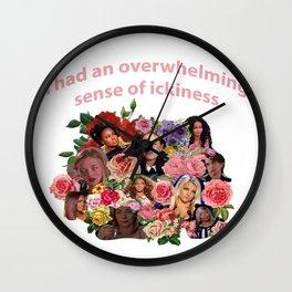 Ickiness Wall Clock