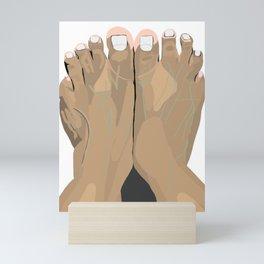 FEET III Mini Art Print