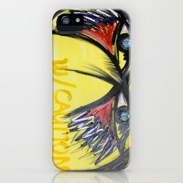 Proceed W/ Caution iPhone Case