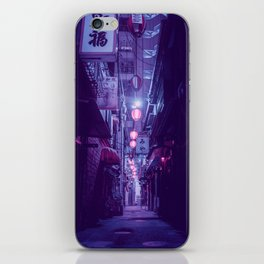 Tokyo Nights / One More Light / Liam Wong iPhone Skin
