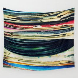 put your records on Wall Tapestry