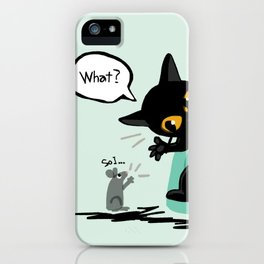 Listen well iPhone Case