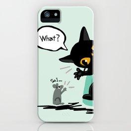 Listen well iPhone Case
