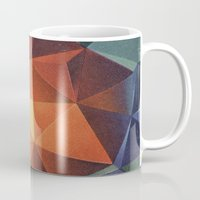 diamond Mugs featuring Diamond by fotos de almanaque