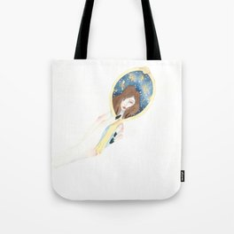 Disappearing Past Self Tote Bag