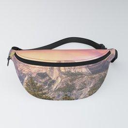Yosemite Valley Summer Sunrise Fanny Pack