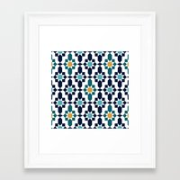 islam Framed Art Prints featuring Marrakesh by Patterns and Textures