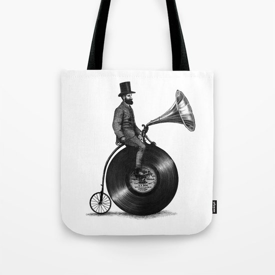 Music Man (monochrome option) Tote Bag