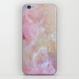 pink abyssness iPhone Skin