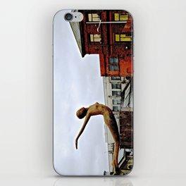 She Flies Across Belfast iPhone Skin