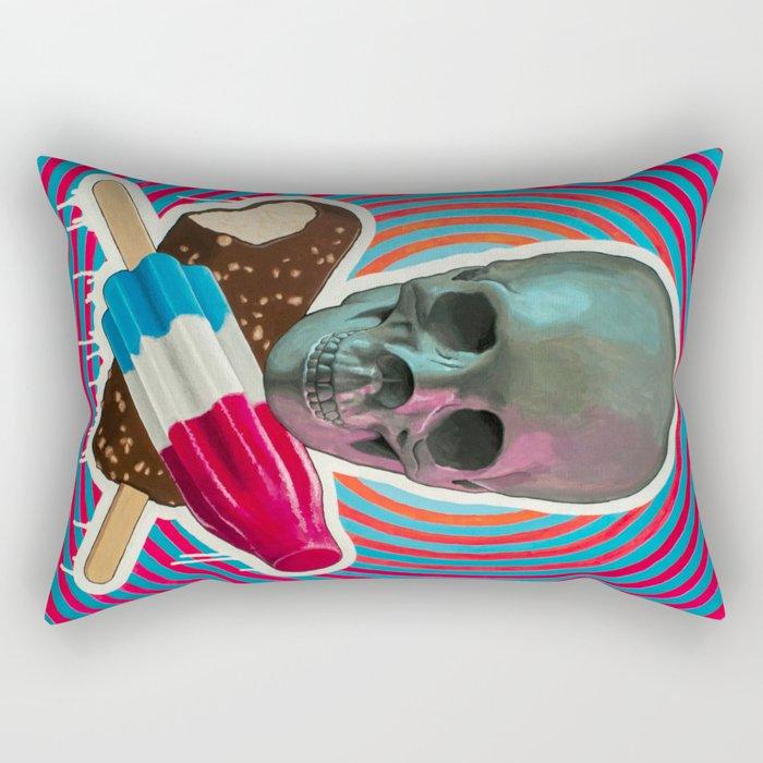 Skull x Pops Rectangular Pillow
