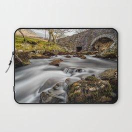 River Ogwen Bridge Laptop Sleeve