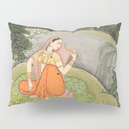 The Heroine Who Waits Anxiously for Her Absent Lover Pillow Sham