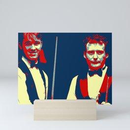 Big Break Snooker Whirlwind Mini Art Print