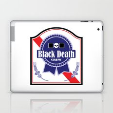 Black Death Ribbon (Color) Laptop & iPad Skin