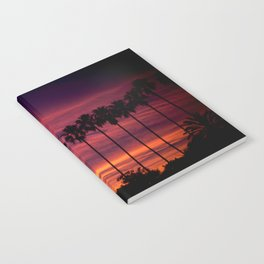 Sunset over Hollywood Notebook