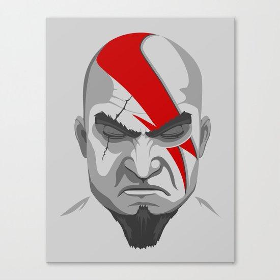 God of Rock Canvas Print