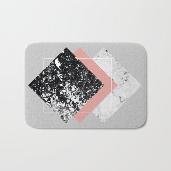 Geometric Textures 1 Bath Mat