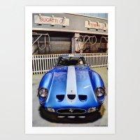 Ferrari 3 Art Print