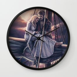 Until Dawn Wall Clock