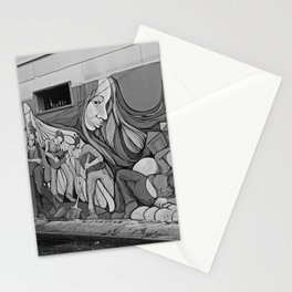 A Mission District Mural Stationery Cards