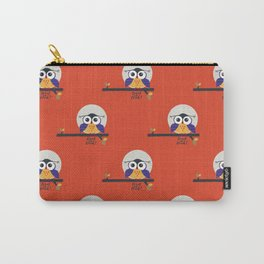 big eyed halloween owl Carry-All Pouch