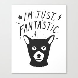 I'm Just Fantastic Canvas Print