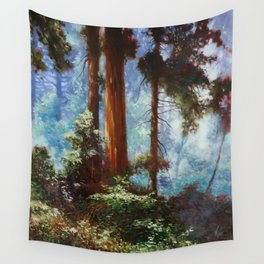 The Forrest Through the Trees Wall Tapestry