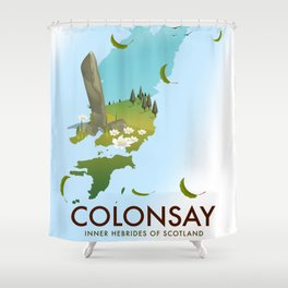 Colonsay Inner Hebrides of Scotland Shower Curtain
