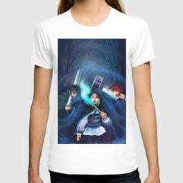 Ennara and the Fallen Druid T-shirt