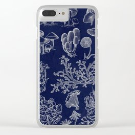 Fungus And Lichen Chart Clear iPhone Case