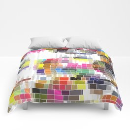 Lovely Raster No. 1 Comforters
