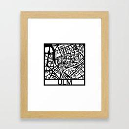 Ulm Framed Art Print