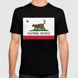 Cat-ifornia Republic T-shirt