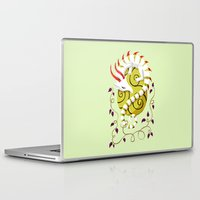 egg Laptop & iPad Skins featuring Dragon Egg by Freeminds