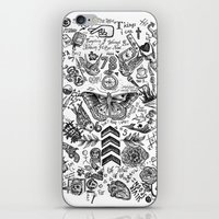 tattoos iPhone & iPod Skins featuring OT5 Tattoos by tash