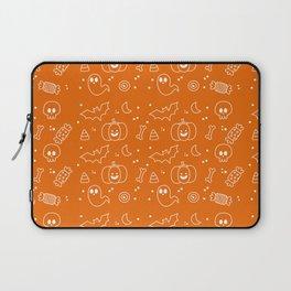 The Halloween Pattern Laptop Sleeve
