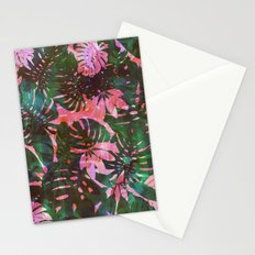 Motuu Tropical pink & green Stationery Cards