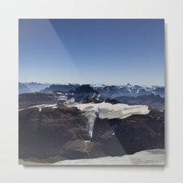 Summit Views Metal Print