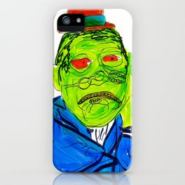 Green Meanie iPhone Case