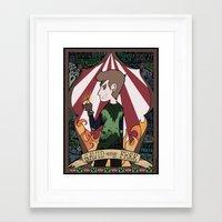 roosterteeth Framed Art Prints featuring Gavin Free Print by sonnibun