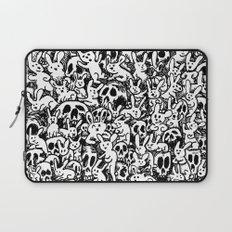 Bunnies & Skulls Laptop Sleeve