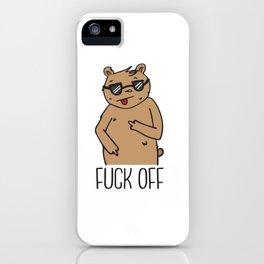 F* Off Bear iPhone Case