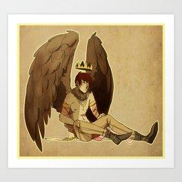 bird prince Art Print