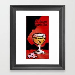 """El buen espíritu """"the good spirit"""" Framed Art Print"""