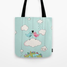 Home is wherever I am with you! Tote Bag