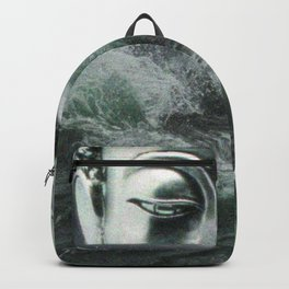 Buddha in the sea Backpack