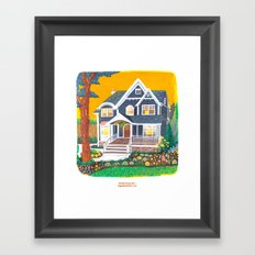 Dream House No.1 Framed Art Print