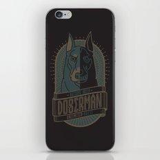 Awesome Breed : DOBERMAN iPhone & iPod Skin